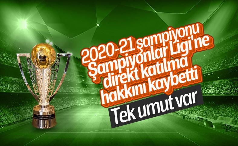 Türk takımları için Şampiyonlar Ligi tehlikesi