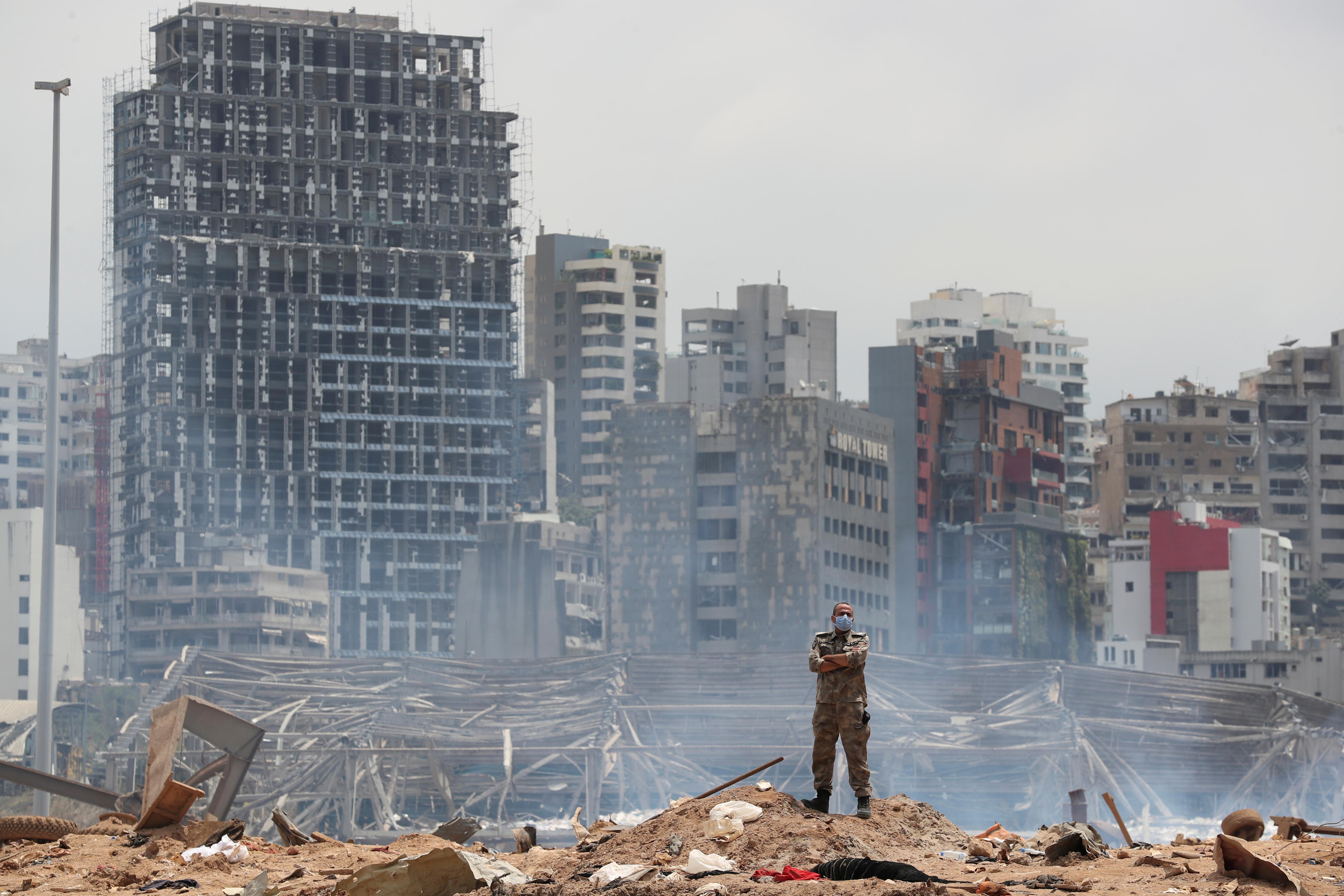 Lübnan Cumhurbaşkanı: Patlamanın nedeni net değil # 1
