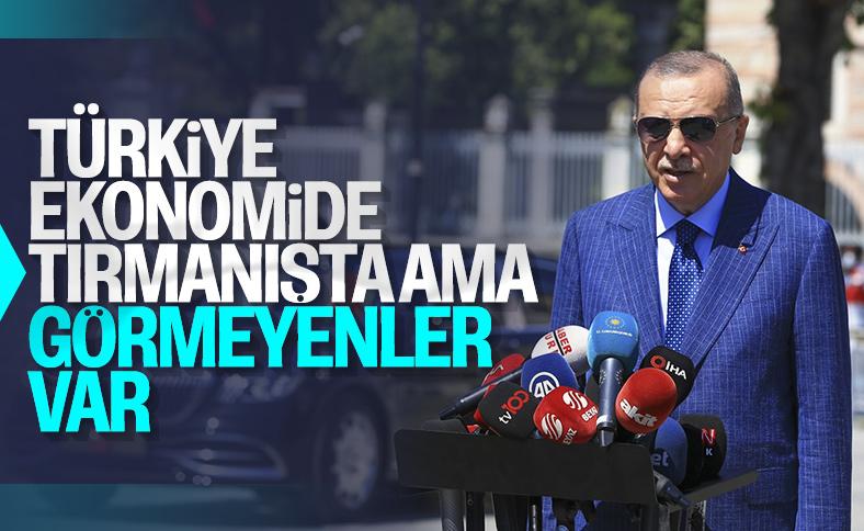 Ekonomideki durum Cumhurbaşkanı Erdoğan'a soruldu