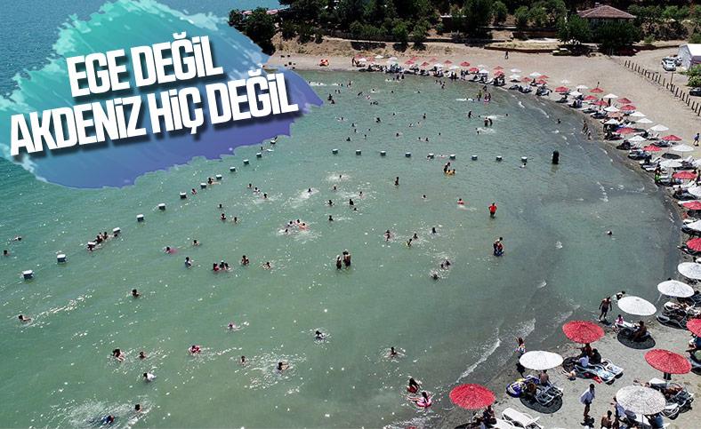Hazar Gölü, Ege ve Akdeniz'i aratmıyor