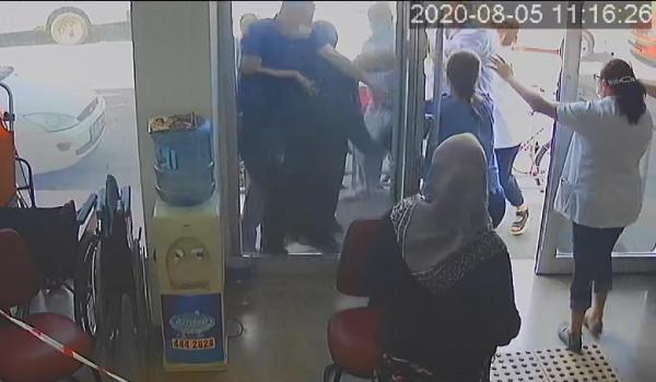 Eskişehir de, sağlık raporu vermeyen doktorlara saldırı #4