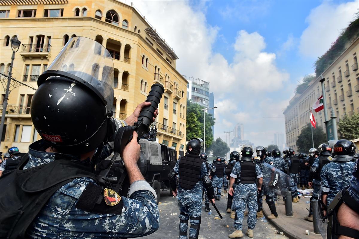 Beyrut'taki protestolara ilişkin değerlendirme: 1 ölü 238 yaralı # 1