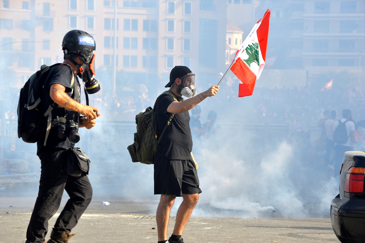 Beyrut'taki protestolara ilişkin değerlendirme: 1 ölü 238 yaralı # 2