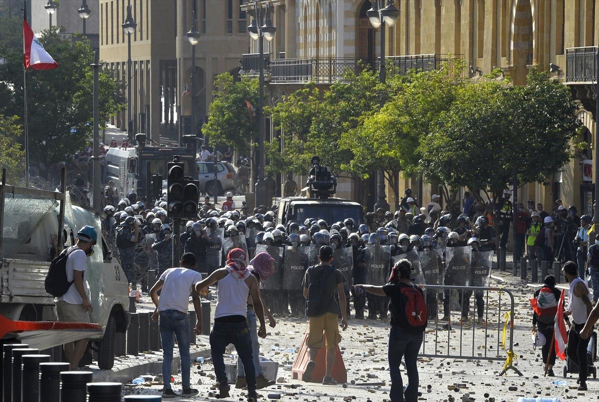 Beyrut'taki gösterilere ilişkin değerlendirme: 1 ölü 238 yaralı # 4