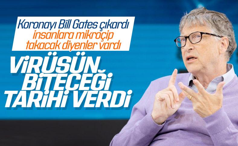 Bill Gates'e göre koronavirüs 2022'de ortadan kalkacak