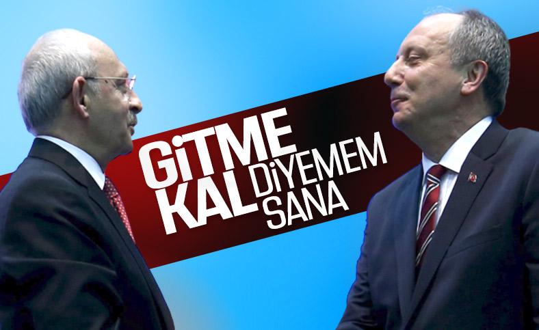 Kemal Kılıçdaroğlu, Muharrem İnce'ye dur demeyecek
