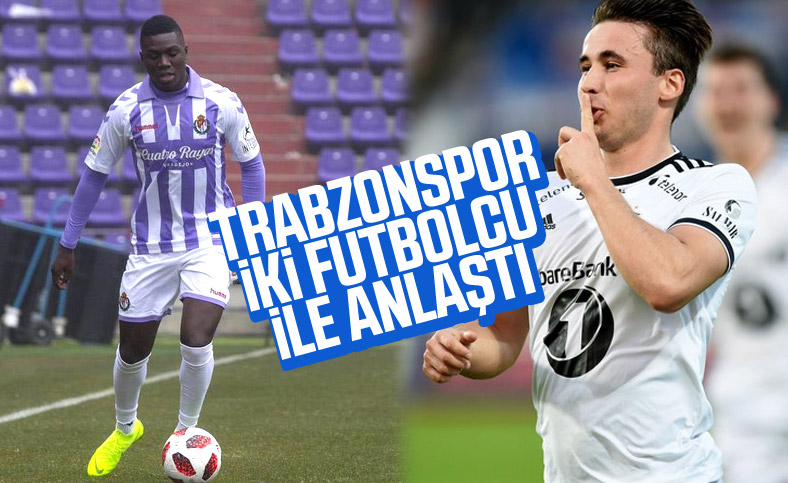 Trabzonspor'dan 2 transfer duyurusu