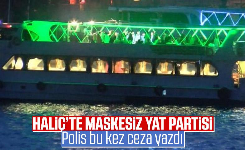 İstanbul'da tekne eğlencilerine denetim