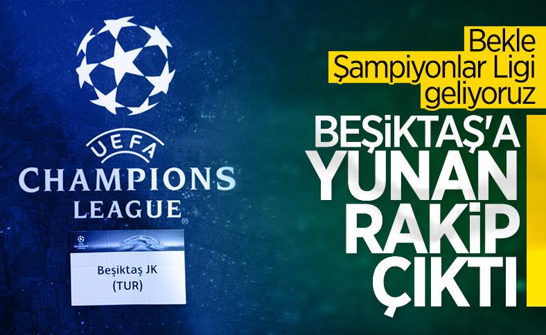 Beşiktaş'ın Şampiyonlar Ligi'ndeki rakibi
