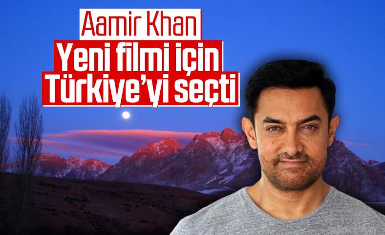 Ünlü oyuncu Aamir Khan yeni filmini Niğde'de çekecek