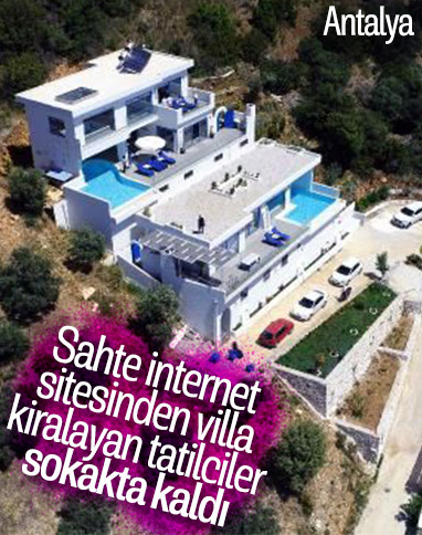 Antalya'da tatilci sahte internet sitesi ile dolandırıldı