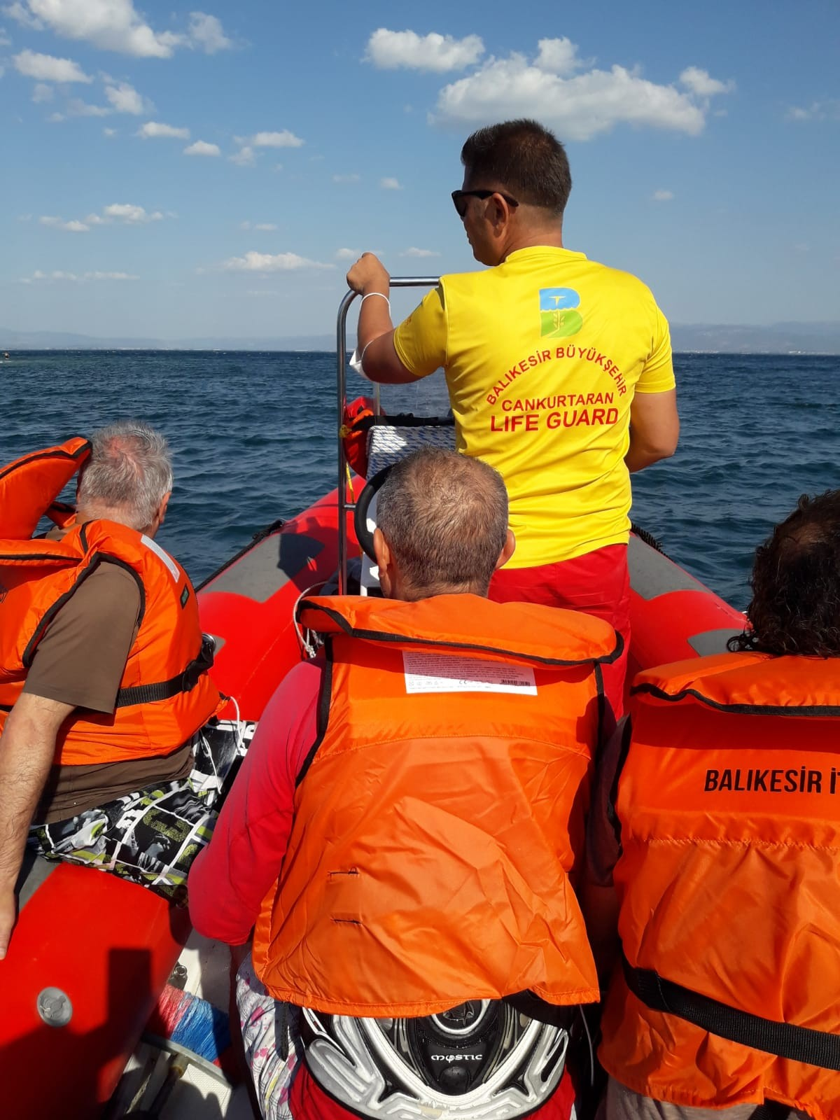 Balıkesir de cankurtaranlar 4 kişiyi kurtardı #2