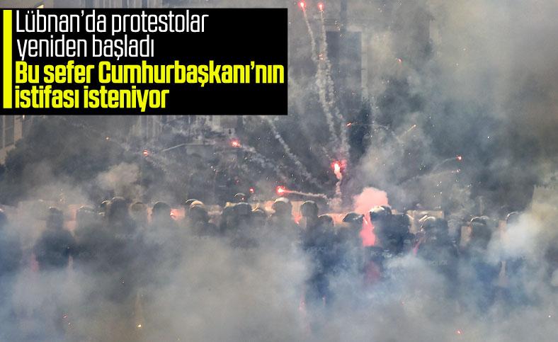 Lübnan'da protestolar yeniden başladı