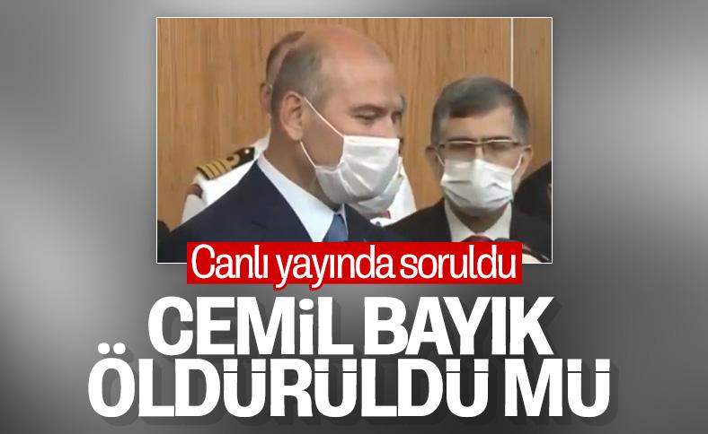 Terörist Cemil Bayık'ın durumu Süleyman Soylu'ya soruldu