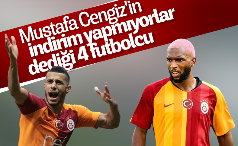 Galatasaray'da maaş indirimine gitmeyen futbolcular