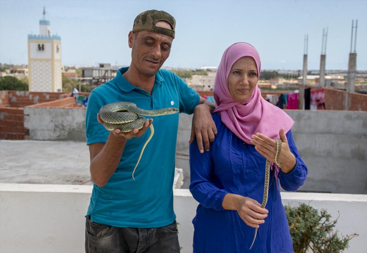 Tunuslu yılan avcısının iş aşkı #9