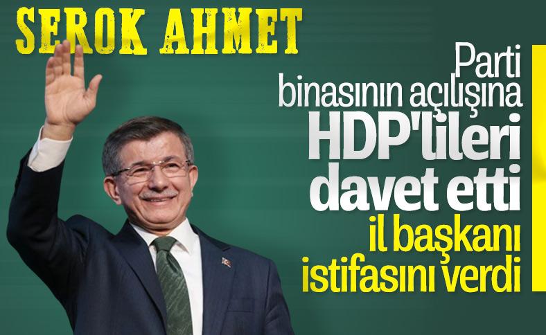Ahmet Davutoğlu'nun HDP daveti, istifayı getirdi
