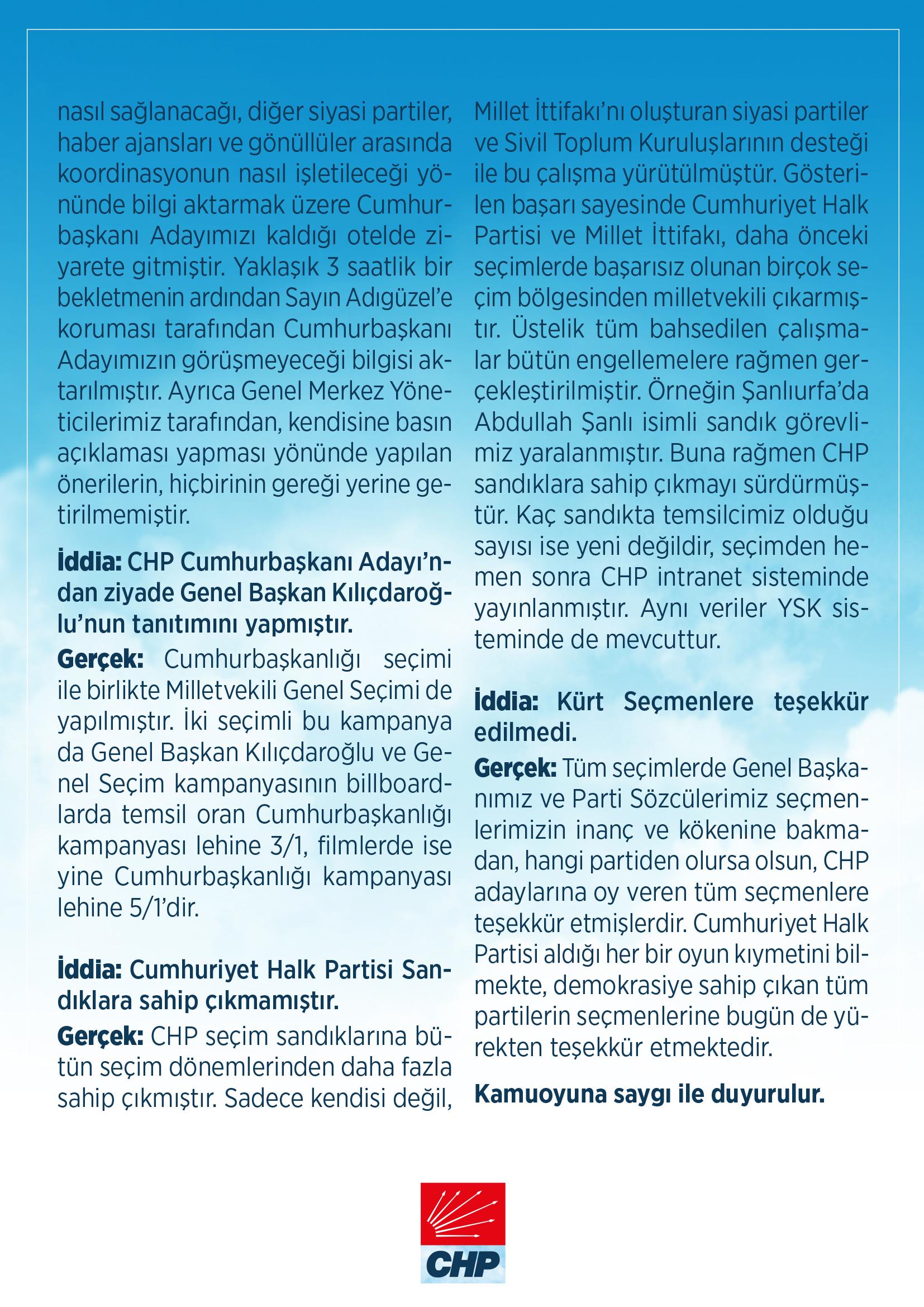 CHP den Muharrem İnce nin açıklamalarına yanıt geldi  #3