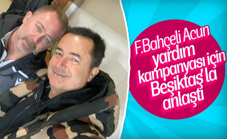 Beşiktaş, Acun Ilıcalı ile yardım gecesi düzenleyecek