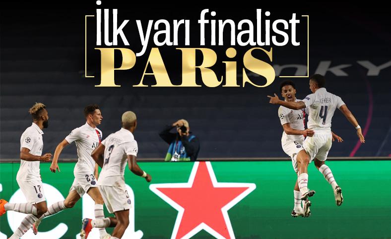 Şampiyonlar Ligi'nde ilk yarı finalist Paris