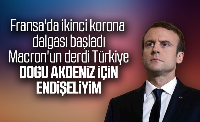 Macron: Türkiye petrol arama faaliyetini durdursun
