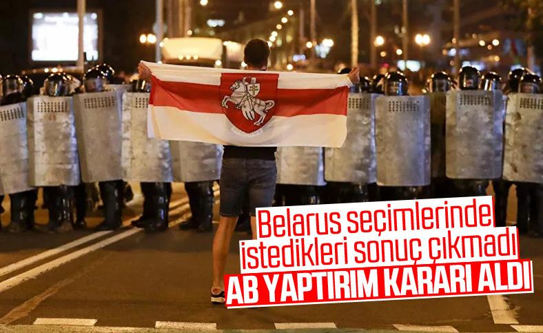 AB Belarus'a yaptırım kararı aldı