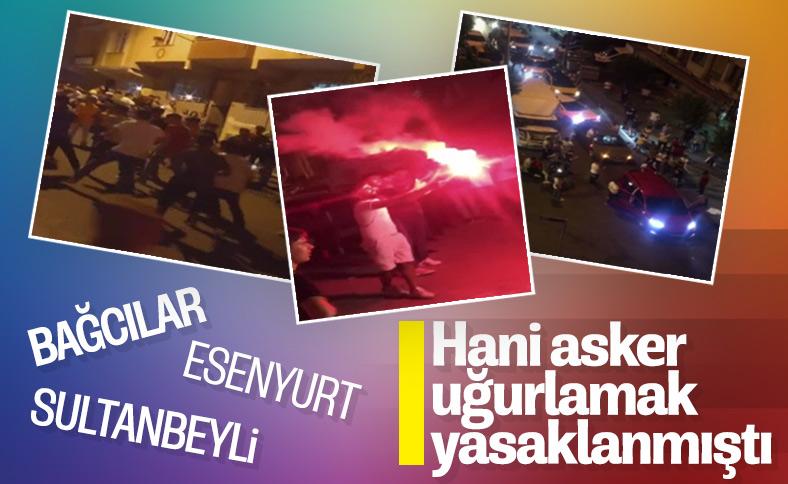 İstanbul'daki asker eğlencelerinden korkunç görüntüler