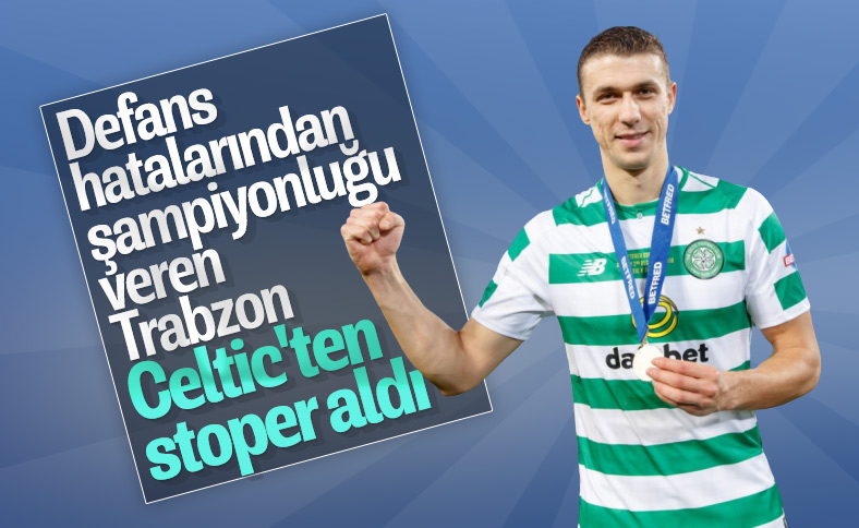 Trabzonspor, Hırvat stoper Simunovic ile anlaştı