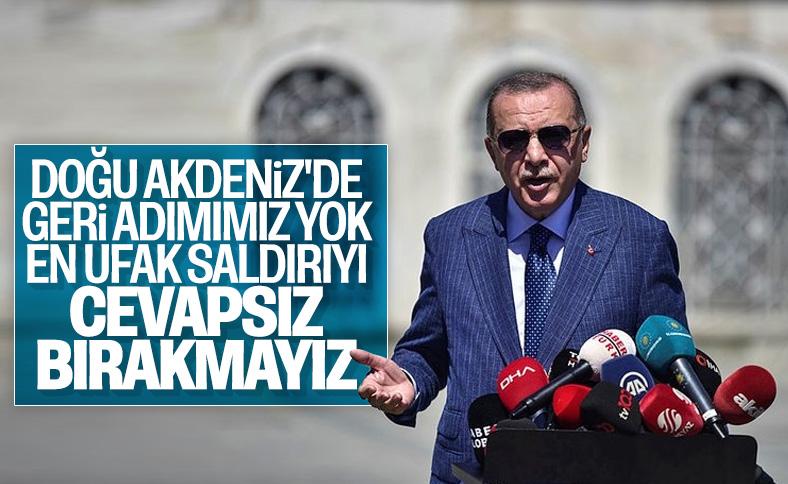 Erdoğan: En ufak saldırıyı cevapsız bırakmayız