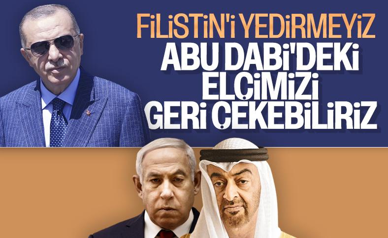 Cumhurbaşkanı Erdoğan: Filistin'i yedirmeyiz