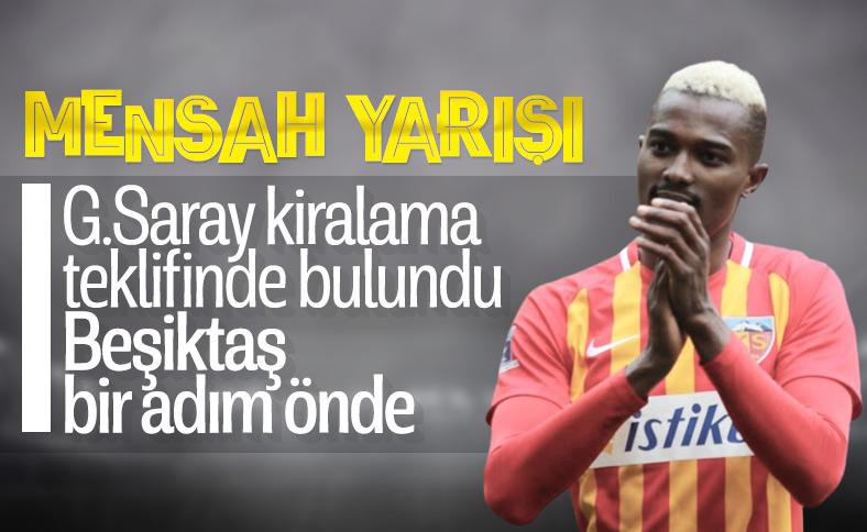 Beşiktaş ve Galatasaray'ın Mensah teklifi