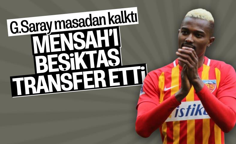 Beşiktaş Mensah'ı kadrosuna kattı