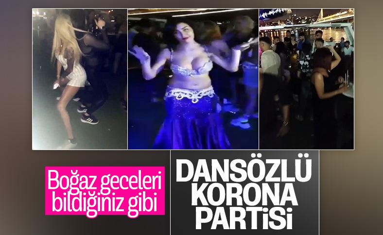 İstanbul Boğazı'nda dansözlü yat partileri