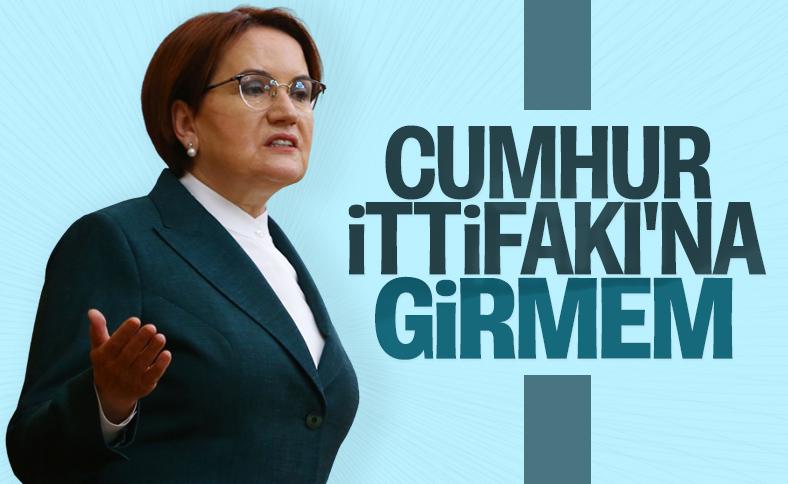 Meral Akşener Bahçeli'nin eve dön çağrısını değerlendirdi