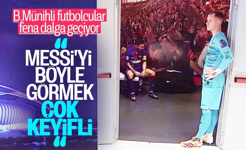 Goretzka: Messi'yi böyle gördüğüm için keyif aldım