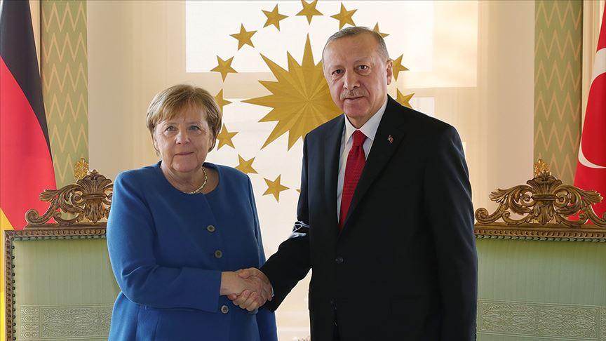 Erdoğan-Merkel görüşmesinin detayları belli oldu #1