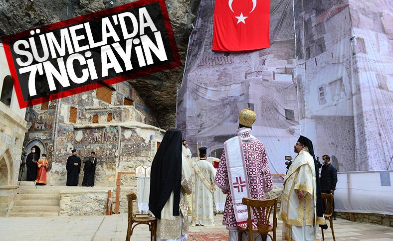 Sümela Manastırı'nda 7'nci ayin yapıldı