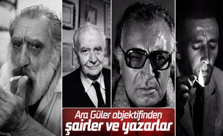 Ara Güler'in gözünden şairler ve yazarlar arşivi
