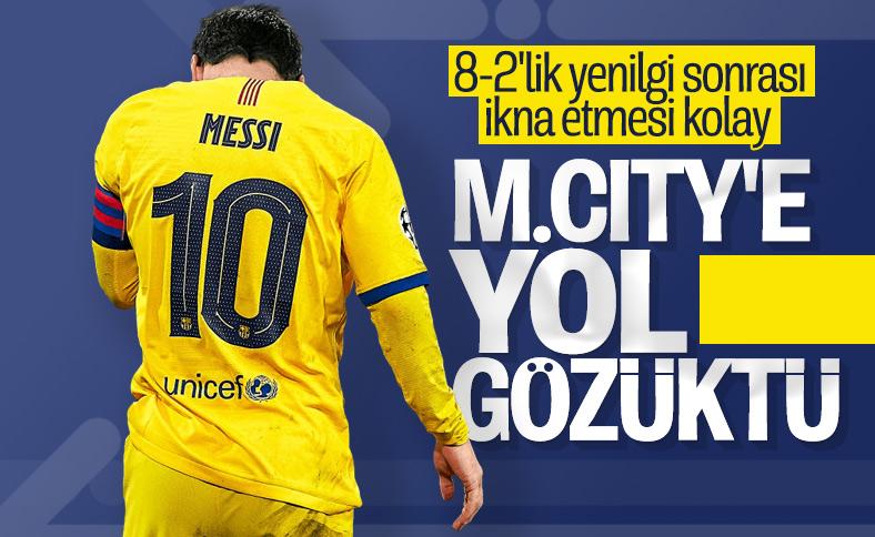 Daily Mirror: M.City Lionel Messi için her şeyi yapacak