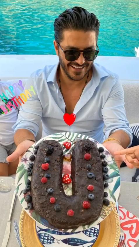 Ebru Şallı, eşinin doğum gününü kutladı  #1