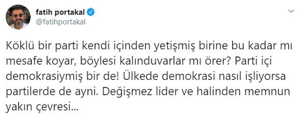 Fatih Portakal'dan CHP'ye Muharrem İnce tepkisi #1