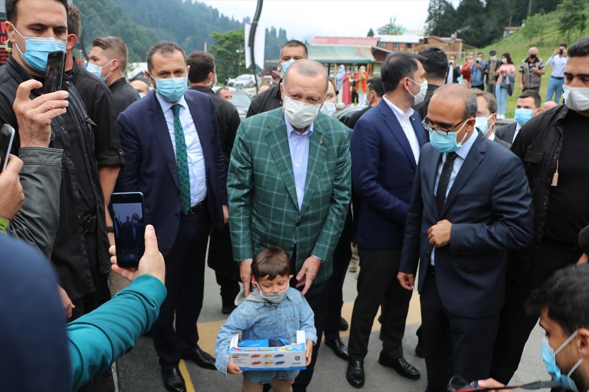 Erdoğan, Rizeliden sigarayı bırakma sözü aldı #2