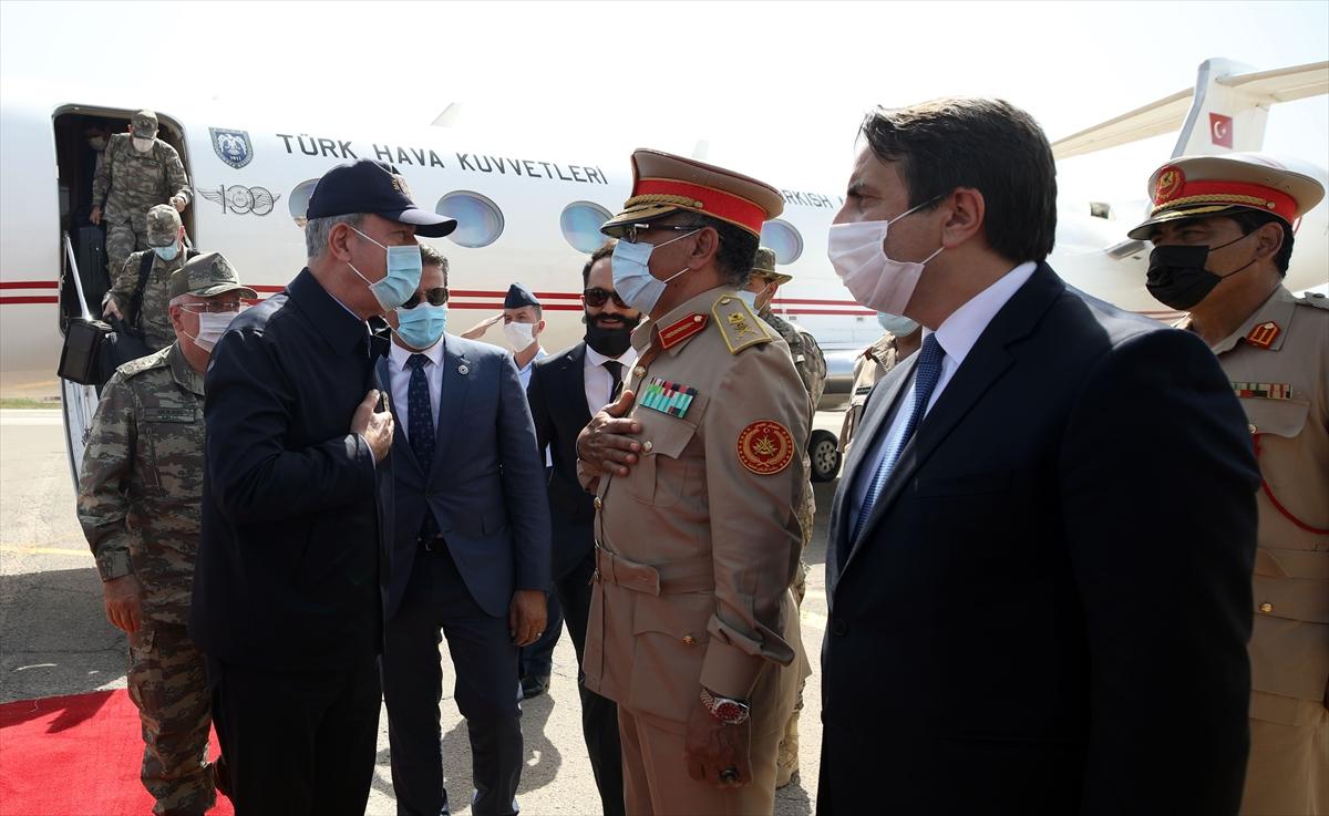 Bakan Akar, Genelkurmay Başkanı Güler ile Libya da #2
