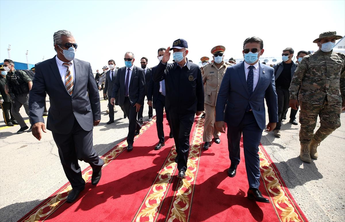 Bakan Akar, Genelkurmay Başkanı Güler ile Libya da #4