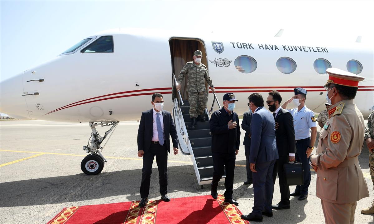 Bakan Akar, Genelkurmay Başkanı Güler ile Libya da #1