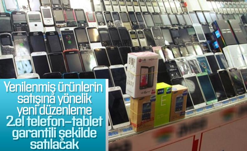 İkinci el cep telefonu ve tablet satışı için yeni düzenleme