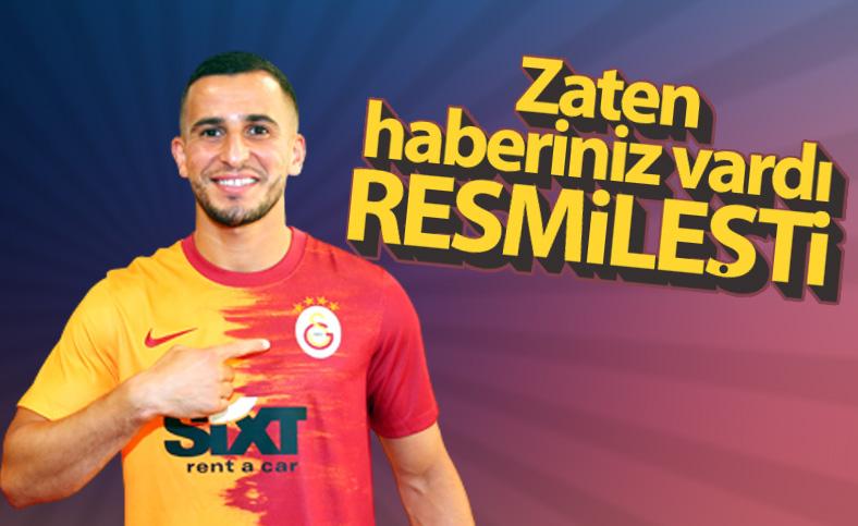 Omar Elabdellaoui resmen Galatasaray'da