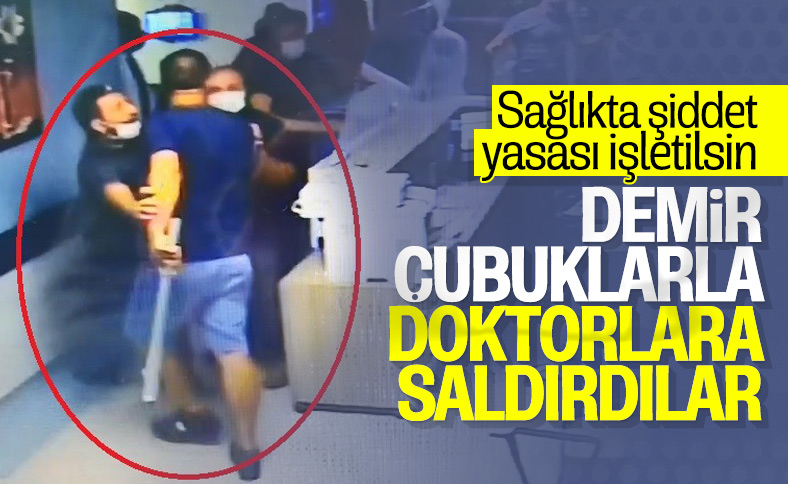 Kocaeli'de hasta yakını, güvenlik görevlisi ve doktora saldırdı