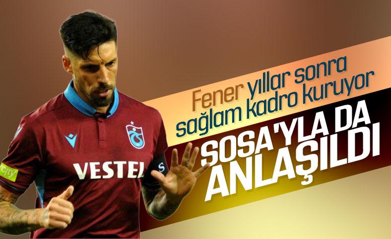 Fenerbahçe, Jose Sosa ile anlaştı