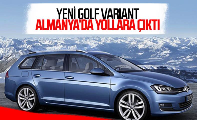 Volkswagen Golf Variant artık üretime hazır